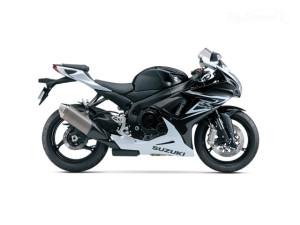 GSXR 600 black